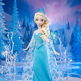 Elsa, la Reina de la Nieve de Arendelle